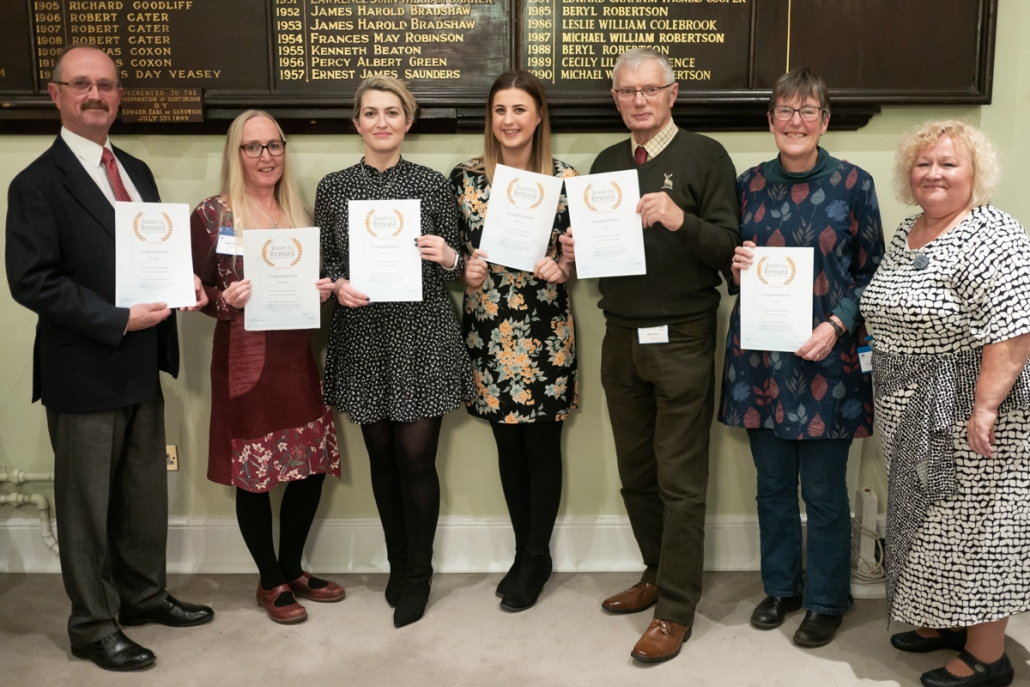 Volunteer Award Winners 2019